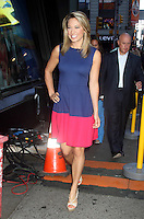 NEW YORK, NY - AUGUST 13, 2012:  Ginger Zee meteorologist  of Good Morning America in New York City. © RW/MediaPunch Inc.