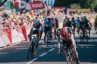 Daniel Martin (IRE/UAE) wins the stage up the Mûr de Bretagne<br /> <br /> Stage 6: Brest > Mûr de Bretagne / Guerlédan (181km)<br /> <br /> 105th Tour de France 2018<br /> ©kramon