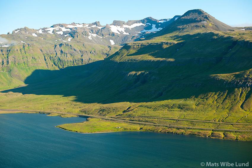 Skerðingsstaðir eyðijörð séð til suðurs, Grundarfjörður áður Eyrarsveit /  Skerdingsstadir deserted farmsite viewing south, Grundarfjordur former Eyrarsveit.
