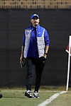 DURHAM, NC - NOVEMBER 25: Duke assistant coach Kieran Hall. The Duke University Blue Devils hosted the Fordham University Rams on November 25, 2017 at Koskinen Stadium in Durham, NC in an NCAA Division I Men's Soccer Tournament Third Round game. Fordham advanced 8-7 on penalty kicks after the game ended in a 2-2 tie after overtime.