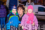 At the Castleisland Christmas lights Event on Friday were Adam Roche, Rebecca Roche and Grace Roche.