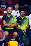 Ryosei Kobayashi (JPN), <br /> AUGUST 27, 2018 - Squash : <br /> Men's Team Pool round <br /> at Gelora Bung Karno Squash Stadium <br /> during the 2018 Jakarta Palembang Asian Games <br /> in Jakarta, Indonesia. <br /> (Photo by Naoki Nishimura/AFLO SPORT)
