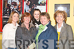 having fun.----------.beale gaa club held a nightout for their members at tralee greyhound stadium last saturday attending were (l-r)katie browne,cathrine ellis,stephanie walsh,brid griffin and hellen o connell.   Copyright Kerry's Eye 2008