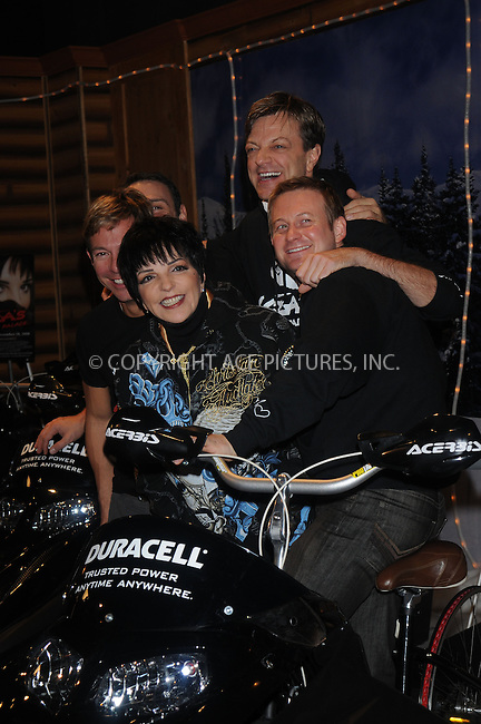 WWW.ACEPIXS.COM . . . . . ....December 9 2008, New York City....Actress and singer Liza Minnelli at the Duracell Power Lodge on December 9, 2008 in New York City.....Please byline: KRISTIN CALLAHAN - ACEPIXS.COM.. . . . . . ..Ace Pictures, Inc:  ..(646) 769 0430..e-mail: info@acepixs.com..web: http://www.acepixs.com