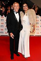 Bruce Forsyth dies at 89 retro set - <br /> arriving for the National TV Awards 2012 at the O2, London.<br /> <br /> ©Ash Knotek  D2391 25/01/2012