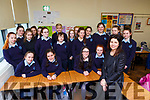 Leading author Denise Deegan visited the third years in Castleisland Presentation school on Monday