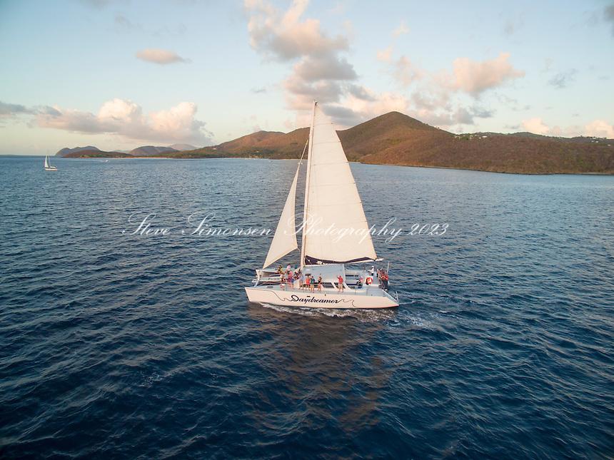 Sailing Vessel &quot;Daydreamer&quot;<br /> Sunset cruise<br /> Pillsbury Sound<br /> US Virgin Islands
