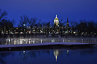 December 16, 2016; Dock on St. Joseph Lake on a winter morning. (Photo by Matt Cashore/University of Notre Dame)