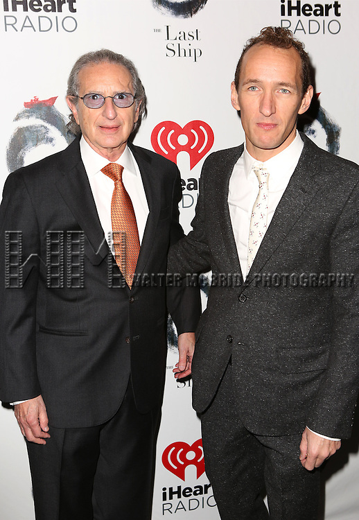 Sander Jacobs and Jeffrey Seller attends the Broadway Opening Night performance of 'The Last Ship' at the Neil Simon Theatre on October 26, 2014 in New York City.