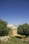 Israel, Upper Galilee, tomb of Nabi Yusha