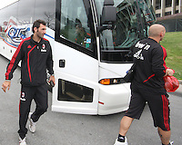 Gianluca Zambrotta  of AC Milan during a practice session at RFK practice facility in Washington DC on May 24 2010.