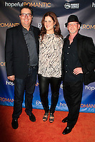 LOS ANGELES - NOV 9: Chris Ekstein, Stacy Ekstein, Benjamin Pollack at the special screening of Matt Zarley's 'hopefulROMANTIC' at the American Film Institute on November 9, 2014 in Los Angeles, California