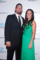 Jeffrey Urgelles and Melissa Urgelles attend The Boys and Girls Club of Miami Wild About Kids 2012 Gala at The Four Seasons, Miami, FL on October 20, 2012