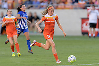 Houston, TX - Sunday Sept. 11, 2016: Janine Beckie during a regular season National Women's Soccer League (NWSL) match between the Houston Dash and the Boston Breakers at BBVA Compass Stadium.