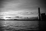 Hong Kong, Harbour, Harbor, Skyline, Ferries, Boats