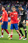 Atletico de Madrid's Griezmann during La Liga Match at Vicente Calderon Stadium in Madrid. May 14, 2016. (ALTERPHOTOS/BorjaB.Hojas)
