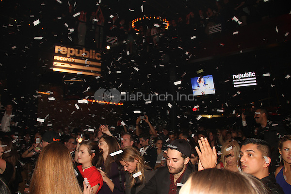 WEST HOLLYWOOD, CA - JANUARY 26:  Atmosphere at the Republic Records Post GRAMMY Party at 1 OAK on January 26, 2014 in West Hollywood, California. Photo Credit: Walik Goshorn/MediaPunch