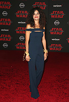 LOS ANGELES, CA - DECEMBER 9: Ashley Dyke, at Premiere Of Disney Pictures And Lucasfilm's 'Star Wars: The Last Jedi' at Shrine Auditorium in Los Angeles, California on December 9, 2017. Credit: Faye Sadou/MediaPunch /NortePhoto.com NORTEPHOTOMEXICO