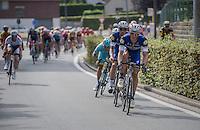 Marcel Kittel (DEU/Etixx-Quickstep) brings Tom Boonen (BEL/Etixx-Quickstep) to the front<br /> <br /> Brussels Cycling Classic 2016