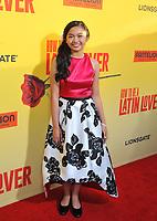 www.acepixs.com<br /> <br /> April 26 2017, LA<br /> <br /> Nayah Damasen arriving at the premiere of 'How To Be A Latin Lover' at the ArcLight Cinemas Cinerama Dome on April 26, 2017 in Hollywood, California. <br /> <br /> By Line: Peter West/ACE Pictures<br /> <br /> <br /> ACE Pictures Inc<br /> Tel: 6467670430<br /> Email: info@acepixs.com<br /> www.acepixs.com