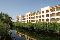 Mangroves and canal at Hacienda Tres Rios, an eco-luxury resort on the Riviera Maya, Quintana Roo, Mexico.