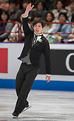 24th March 2018, Mediolanum Forum, Milan, Italy;  Keegan MESSING (CAN) during the ISU World Figure Skating Championships, Men Free Skating at Mediolanum Forum in Milan, Italy