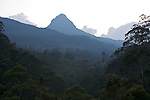 Jutting sharply skyward from the lush jungles of southwestern Sri Lanka is the 7362 ft (2243 m) peak of Sri Pada, the 'Holy Footprint'. Also called Adam's Peak, the mountain has the unique distinction of being sacred to the followers of four of the world's major religions: Hinduism, Buddhism, Christianity and Islam.