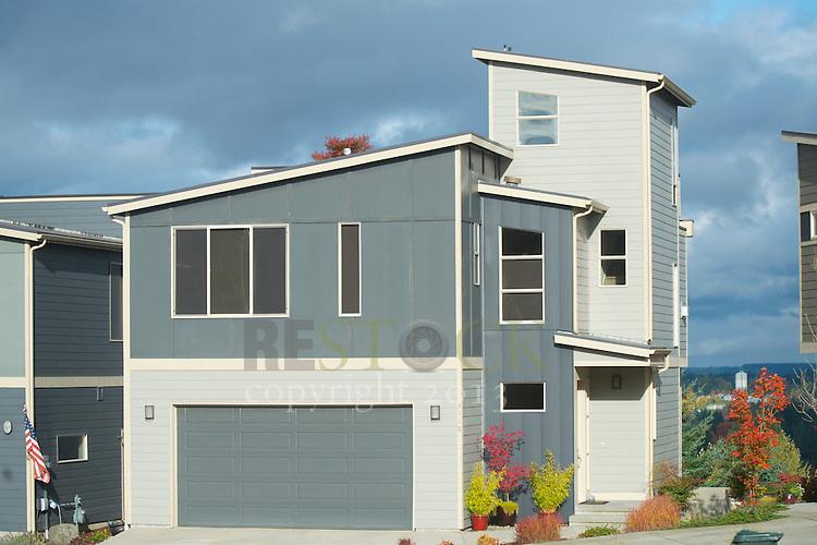 Modern Blue Home