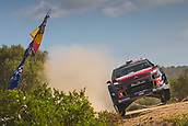 8th June 2017, Alghero, West Coast of Sardinia, Italy; WRC Rally of Sardina;  Breen