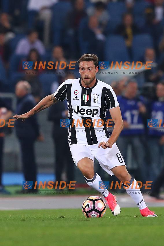Claudio Marchisio Juventus<br /> Roma 14-05-2017  Stadio Olimpico <br /> Campionato Serie A AS Roma - Juventus<br /> Foto Cesare Purini / Insidefoto