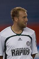 Clint Mathis. NE Revolution defeat Colorado Rapids, 3-1, at Gillette Stadium on Sept. 30, 2006.