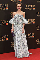 Kara Tointon<br /> The Olivier Awards 2018 , arrivals at The Royal Albert Hall, London, UK -on April 08, 2018.<br /> CAP/PL<br /> &copy;Phil Loftus/Capital Pictures