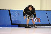 SPEEDSKATING: SALT LAKE CITY: 06-12-2017, Utah Olympic Oval, ISU World Cup, training, Ryan Shimabukuro (trainer/coach), photo Martin de Jong
