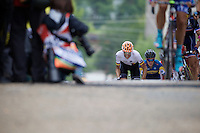 coming up 23rd Street<br /> <br /> U23 Road Race<br /> UCI Road World Championships Richmond 2015 / USA