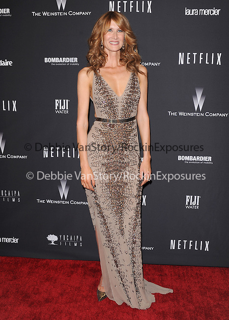 Laura Dern<br /> <br /> <br />  attends THE WEINSTEIN COMPANY & NETFLIX 2014 GOLDEN GLOBES AFTER-PARTY held at The Beverly Hilton Hotel in Beverly Hills, California on January 12,2014                                                                               © 2014 Hollywood Press Agency