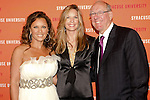 Vanessa Williams, Juli and Jim Boeheim arrive at the Syracuse University 2011 Fashion Show, at One Chase Plaza, May 19 2011.