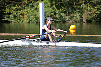 Race: 8  Event: Aspirational Lightweight 1x<br /> Crew: 148  Club: Oxford UW Lwt (A)<br /> <br /> Henley Women's Regatta 2018<br /> Friday<br /> <br /> To purchase this photo, or to see pricing information for Prints and Downloads, click the blue 'Add to Cart' button at the top-right of the page.