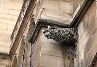 Gargoyle on St. Severin Church. Latin Quarter. Paris, France. Paris, France Latin Quarter.