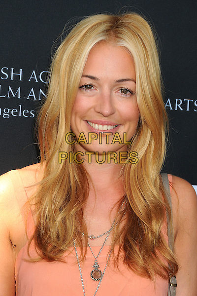 Cat Deeley.9th Annual BAFTA Los Angeles TV Party held at L'Ermitage Beverly Hills Hotel.  Beverly Hills, California, USA,.17th September 2011..portrait headshot smiling  necklace peach  .CAP/ADM/BP.©Byron Purvis/AdMedia/Capital Pictures.