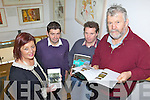 FOLKLORE: Announcing proposals for a new folklore course through the South Kerry Development Partnership, l-r: Margaret Wrenn, Conchubhair Lyne, Seán de Buitléar, Johnny O'Connor (Folklore Chairman).