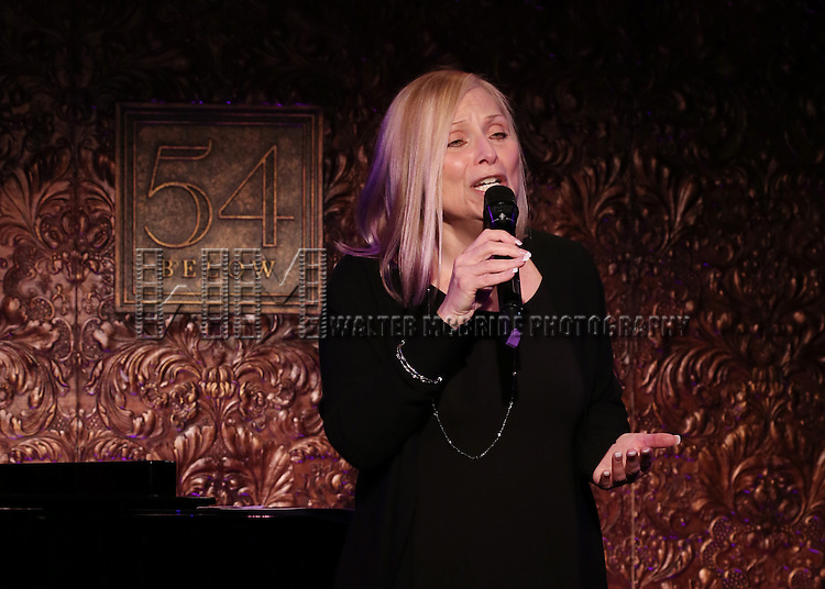 "Roslyn Kind performs A Special Press Preview of her upcoming show ""It's Been a While""  at 54 Below on April 4, 2014 in New York City."