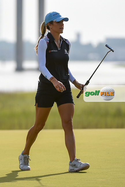 Jaye Marie Green (USA) after sinking her putt on 10 during round 2 of the 2019 US Women's Open, Charleston Country Club, Charleston, South Carolina,  USA. 5/31/2019.<br /> Picture: Golffile | Ken Murray<br /> <br /> All photo usage must carry mandatory copyright credit (© Golffile | Ken Murray)
