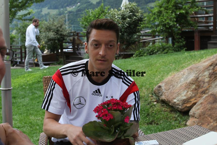 Mesut Özil - Media Day der Deutschen Nationalmannschaft zur WM-Vorbereitung in St. Martin