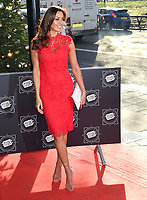 Melanie Sykes<br /> arriving for the TRIC Christmas Party, Grosvenor House Hotel, London.<br /> <br /> <br /> &copy;Ash Knotek  D3362  12/12/2017