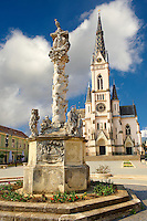 Neo Gothic parish church, K?szeg Hungary