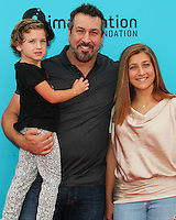 UNIVERSAL CITY, CA, USA - SEPTEMBER 21: Briahna Joely Fatone, Joey Fatone, Kloey Alexandra Fatone at the Los Angeles Premiere Of Focus Features' 'The Boxtrolls' held at Universal CityWalk on September 21, 2014 in Universal City, California, United States. (Photo by Celebrity Monitor)