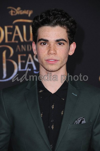 """02 March 2017 - Hollywood, California - Cameron Boyce. Los Angeles premiere of Disney's """"Beauty and the Beast' held at El Capitan Theatre. Photo Credit: Birdie Thompson/AdMedia"""