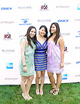 Justine Chao, Amanda Huh, Crystal Coscar  Attend The Fourth Annual Reginald F. Lewis Foundation Gala Luncheon Held at The Reginald F. Lewis Estate, East Hampton New York, 6/25/11