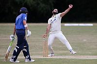Hamzah Ikram of Harold Wood during Harold Wood CC vs Shenfield CC (batting), Essex Cricket League Cricket at Harold Wood Park on 25th July 2020