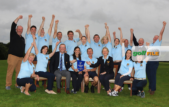 The Tullamore Team are the winners of the Irish Mixed Foursomes Leinster Final at Millicent Golf Club, Clane, Co. Kildare. 06/08/2017<br /> Picture: Golffile | Thos Caffrey<br /> <br /> <br /> All photo usage must carry mandatory copyright credit      (&copy; Golffile | Thos Caffrey)